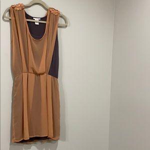 Esley peach small dress